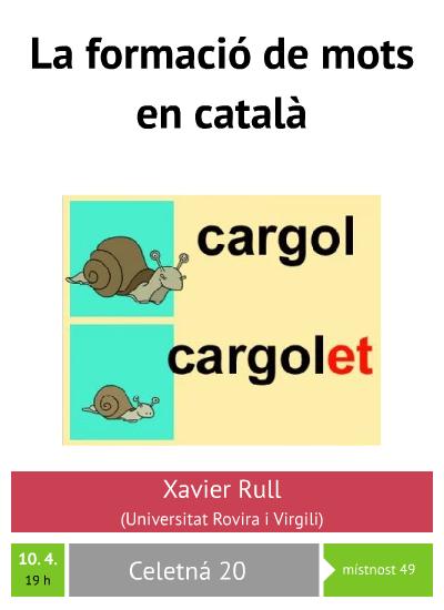 La formació de mots en català