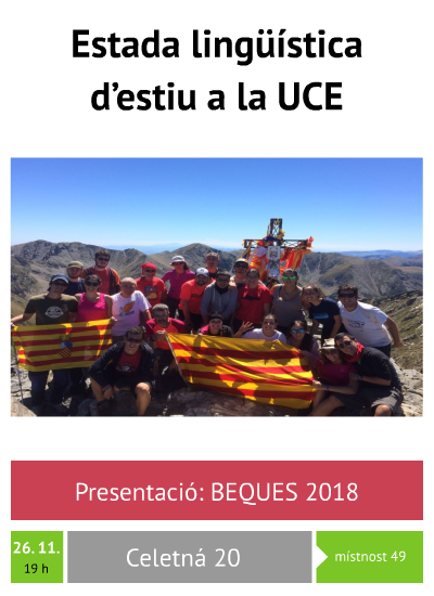 Beques 2018: UCE
