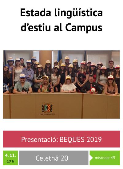 Beques 2019: Campus